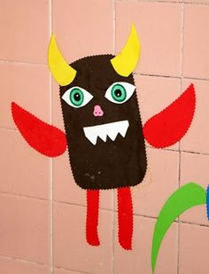 let kids cut out different shapes from foam sheets and use them in the tub... very cool!