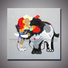 http://www.kunlongart.com/2124-2388-thickbox/elephant-cartoon-oil-painting-klcp-0004.jpg