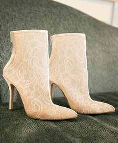 See how one couple pulled off a grand uptown wedding in a matter of months. Wedding Shoes, Lace Wedding, Big Day, Cowboy Boots, New York City, Stiletto Heels, Classic, Photography, Fashion