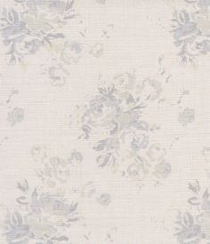 Millie ~ Seamist on Ivory or Cream Linen - Peony & Sage