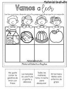 English Worksheets For Kids, Kids Education, Grade 1, Spanish, Homeschool, Language, Teaching, Activities, Classroom