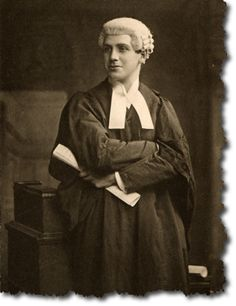 How Barristers used to dress - and many still do..