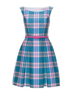 Review Australia   Gelati Check Dress Multi