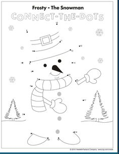 Snowman Source by bmrsstring Christmas Worksheets, Christmas Math, Preschool Christmas, Worksheets For Kids, Christmas Activities, Christmas Colors, Winter Crafts For Kids, Winter Fun, Winter Theme