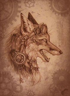 Эскизы тату с лисой • Значение татуировки с лисой