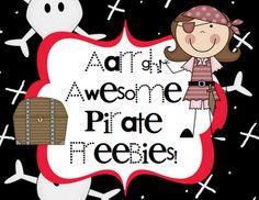 Pirate Freebie Links