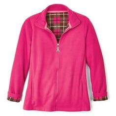 Breast Cancer Pink Fleece Jacket