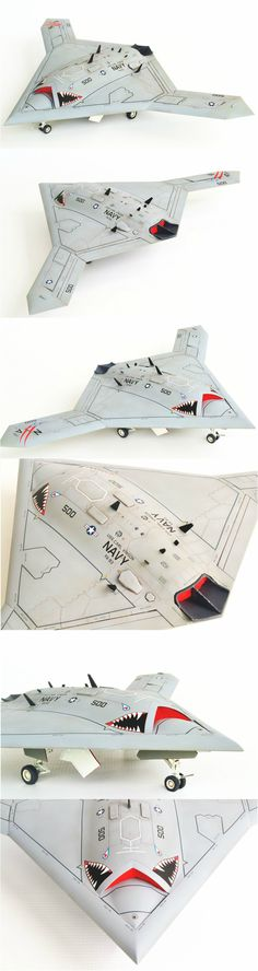 Freedom Models 1/48 X-47B with some Whif markings.