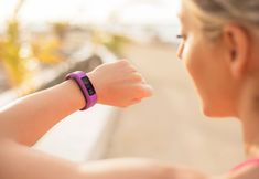 """""""Wearable Technology"""" takes the top spot on the ACSM's annual fitness trends list. One in six people are sporting a fitness tracker. Interval Training Program, High Intensity Interval Training, Training Programs, Best Fitness Tracker, Fitness Goals, Workplace Wellness, Lose Weight, Weight Loss, Health Trends"""