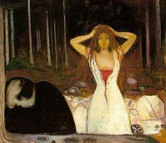 Edvard Munch – Ashes, 1894