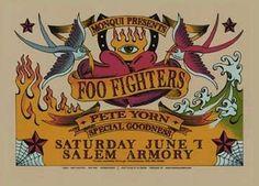 Band: Foo Fighters  -  Artist: Gary Houston