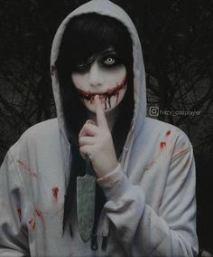 Jeff the killer cosplay  by HazyCosplayer - COSPLAY IS BAEEE!!! Tap the pin now to grab yourself some BAE Cosplay leggings and shirts! From super hero fitness leggings, super hero fitness shirts, and so much more that wil make you say YASSS!!!
