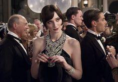 robe tour de cou décorée perles années 20 Gatsby Magnifique