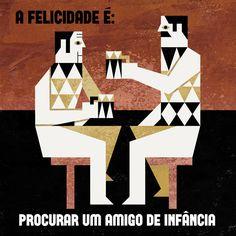 Happiness is to find an old friend #felicidario #tiagoalbuquerque