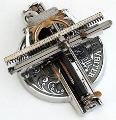 Odell Typewriter, 1890
