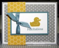 Something for Baby, Stampin Up! by Karine Cartier www.creationshabsgirl22.com
