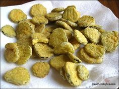 Buffalo Wild Wings fried pickles recipe- just made these!