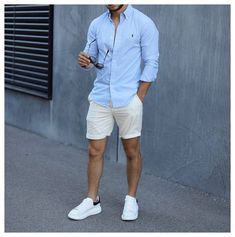 Summer Outfits Men, Stylish Mens Outfits, Derby Outfits, Summer Men, Summer Clothes For Men, Urban Style Outfits Men, Men Summer Style, Stylish Clothes For Men, Men's Casual Outfits