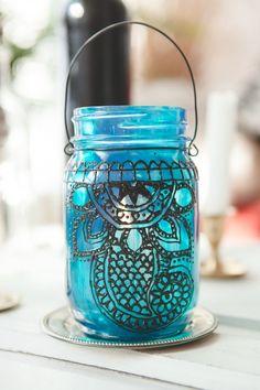 DIY: henna lantern