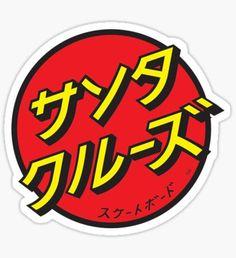santa cruz logo - not usual Santa Cruz Skate, Santa Cruz Logo, Santa Cruz Stickers, Jdm Stickers, Surf Stickers, Logo Stickers, Best Wallpapers Android, Skateboard Logo, Hand Sticker