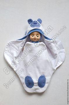 """Купить Конверт-кокон на выписку """"Мишка Тедди"""" 2 - конверт, для новорожденного, на выписку, для прогулок, кокон"""