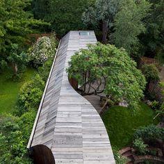 "13.1 m Gostos, 29 Comentários - ArchDaily (@archdaily) no Instagram: ""Tree House 6a Architects @johan_dehlin #UnitedKingdom #Tree #House #Children #Kids #Garden…"""