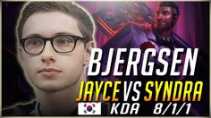 Bjergsen Jayce 8/1/1 IN 15 min Destroying Korean Solo q https://www.youtube.com/attribution_link?a=lX3D7CIBlrU&u=%2Fwatch%3Fv%3Df2P0S43TMpI%26feature%3Dshare #games #LeagueOfLegends #esports #lol #riot #Worlds #gaming