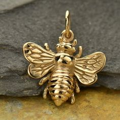 Bee Jewelry & Beehive Jewelry Collection — The Beehive Shoppe Bee Jewelry, Charm Jewelry, Jewellery, Jewelry Ideas, Insect Jewelry, Charm Bracelets, Jewelry Design, I Love Bees, Vintage Bee