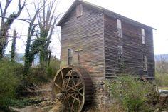 Abandon mill, Smoky Mountains, TN