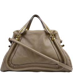 CHLOE Large Leather Paraty Bag