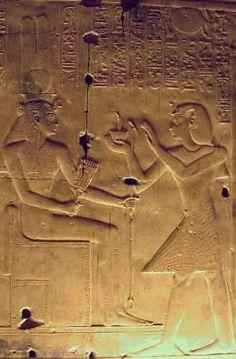 Abydos, temple de Sethi, les 7 chapelles
