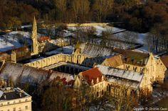 ✈️ Photo aérienne de : Abbaye de Royaumont - Val-d'Oise (95)
