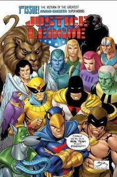 Hanna-Barbera Justice League