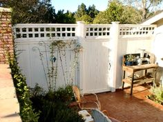 East backyard fence & ally gate