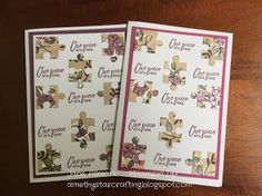 AmethyStar Crafting : Stampin Up Love You To Pieces - One Piece At A Tim...