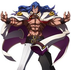 BlazBlue: Chronophantasma - Azrael, Pre-battle