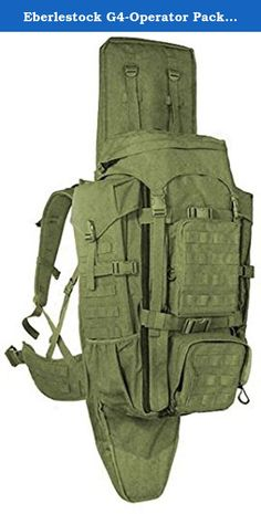 Eberlestock G4-Operator Pack, Military Green. Many see the G4 Operator as the ultimate scout/sniper pack. It represents everything that Eberlestock has learned about the needs of the professional military sniper community, and is a true go-to-war pack, derived from the lessons learned from our Phantom and Gunslinger products. This great battle-proven pack is the model chosen worldwide by many of the most elite special operations sniper teams, and others who carry multiple weapons. The...