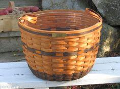1991 Longaberger J.W. Corn Basket