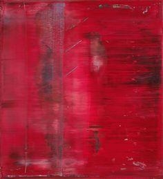 Gerhard Richter, Abstraktes Bild / Abstract Painting, 1991, 112 cm x 102 cm, Catalogue Raisonné: 748-6, Oil on canvas