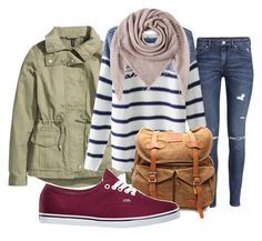 """Untitled #14"" by m2415m on Polyvore featuring H&M, Chicnova Fashion, VIPARO, Faliero Sarti and Vans"