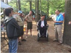 Rep. Langevin helps Boy Scout's Camp #Yawgoog celebrate 100th season.  A story by Tom Mooney with image by Glenn Osmundson posted to The Providence Journal on August 6, 2015.