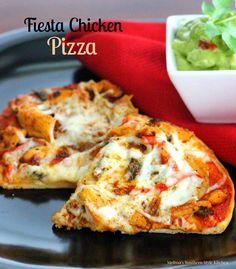 Fiesta Chicken Pizza