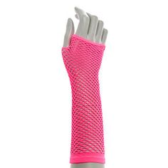 Hot Pink Fishnet Mesh Armwarmers, Pastel Goth Outfits, Hello Kitty Items, Birthday Boy Shirts, Girl Bedroom Designs, Spice Girls, Kawaii Fashion, Fishnet, Aesthetic Clothes, Arm Warmers