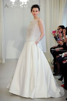 Angel Sanchez 2014 Wedding Dresses, mariée, bride, mariage, wedding, robe mariée, wedding dress, white, blanc