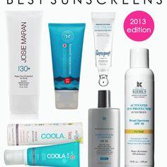 Best Sunscreens 2013