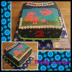 Peppa big taart / Peppa Pig cake