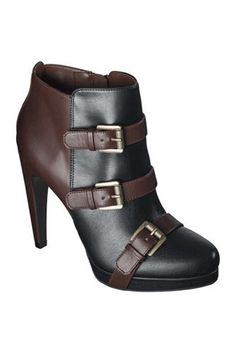 Sam & Libby Kaye Buckle Boots, $35.99, available at Target. #shoes
