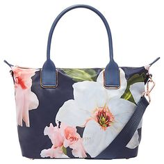 Ted Baker Orsja Chatsworth Small Tote Bag, Navy