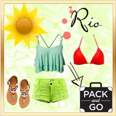 Summer in Rio uploaded by on ShopLook Rio, Polyvore, Summer, Outfits, Shopping, Design, Women, Fashion, Moda