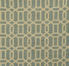 Pindler Fabric Pattern #P9021-Malone, color Spa www.pindler.com   (Geometric)